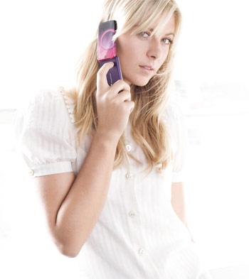 Maria Sharapova & Sony Ericsson T707