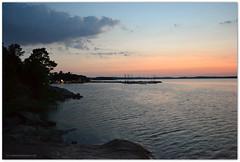 Saltsjbaden 02:03 (Papa Razzi1) Tags: morning blue sea summer june sunrise island sweden stockholm saltsjbaden nordiclight baggensfjrden baggen nikond3100 restaurantholmen dalarbryggan