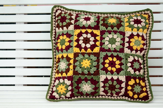 Subdued Granny Cushion - Front