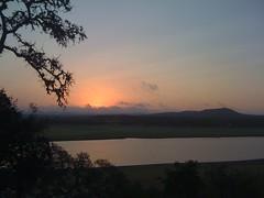 sunrise in Bandera