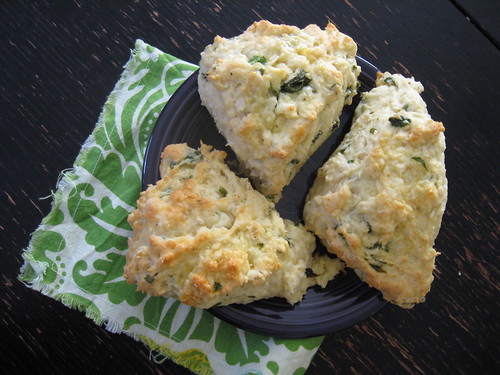 Ramp & Cheese Scones