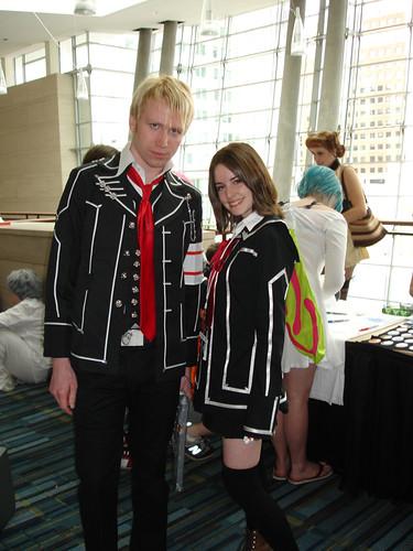 vampire knight cosplay zero. Animazement 2009: Zero amp; Yuki