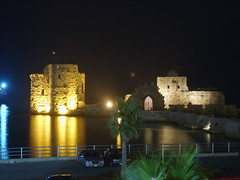 Saida ~Lebanon (Salim.D.) Tags: old city light sea lebanon mer paris france castle history night port de island lights switzerland marine roman lausanne strasbourg saida toulouse chateau beirut libano mainland belfort liban   sidon sayda casle    anawesomeshot mamluks  geneves hassrouth