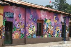 Mural In Ataco