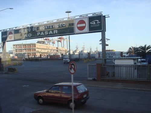 Puerto de Montevideo, Uruguay