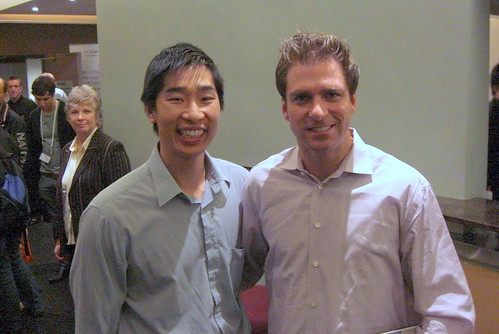 Brad Fallon and Tyrone Shum