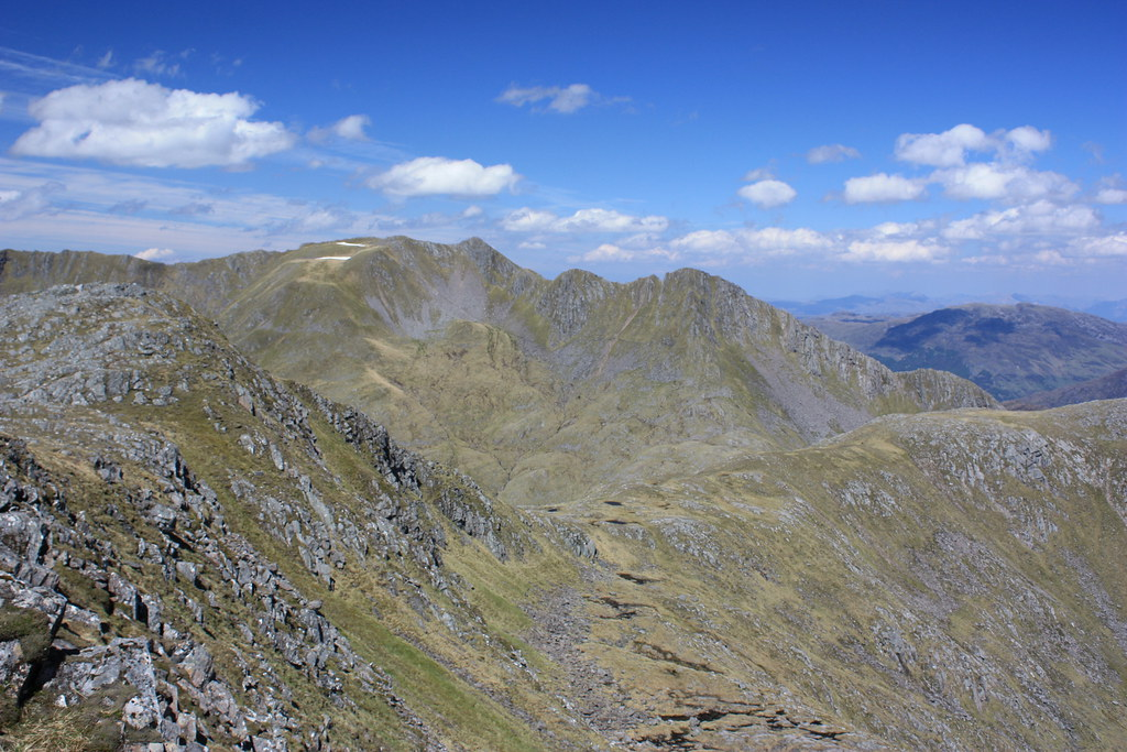 The Saddle from Sgurr na Sgine