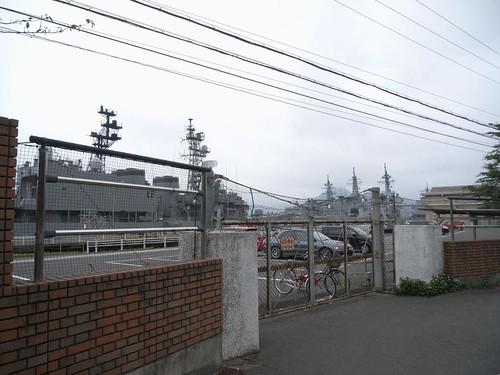 『海上自衛隊舞鶴基地』@舞鶴市-02