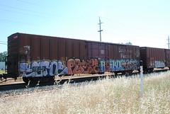 ectoe rtype haiku kola (huntingtherare) Tags: train graffiti haiku kola freight endtoend mfg rtype ectoe e2e madeforglory