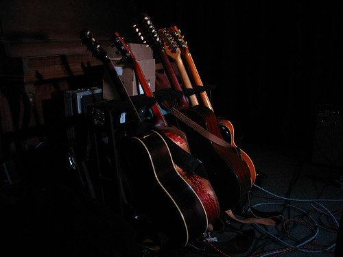 Colin Linden's guitars