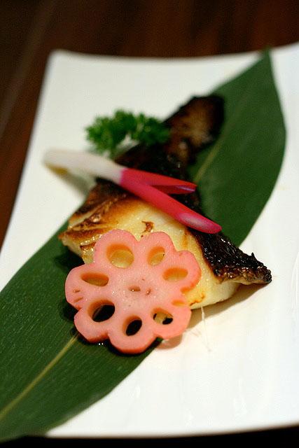 Gindara Saikyotsuke - grilled cod with miso