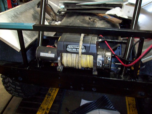 The rear winch, a Britpart 9500i