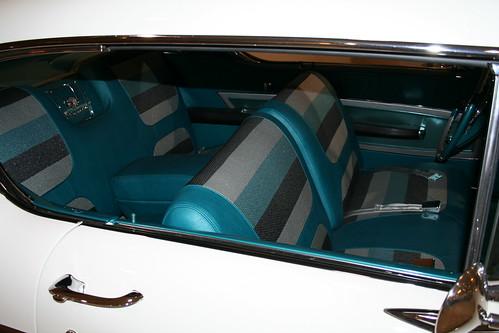 1958 Chevy interior