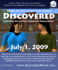 "Movie Poster for ""Discovered"" VVP Machinima Film"