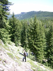 MM on Old Scab's lower slopes