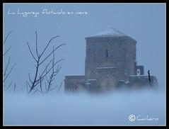 La Lugareja flotando en nieve (marioadaja) Tags: nieve iglesias avila mudejar arevalo moraa ltytr2 ltytr1 ltytr3 lugareja lalugareja