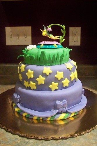 Julia's 5th Birthday Cake - Tinkerbell