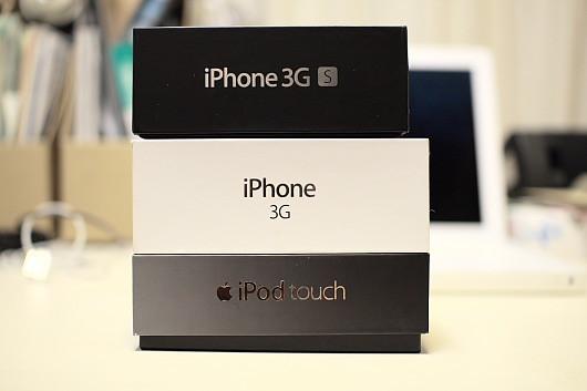 iPhone 3GS 買った(機種変更)