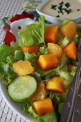 mango citrun salad
