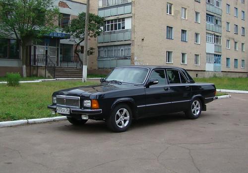 Russian GAZ 3102 Volga based