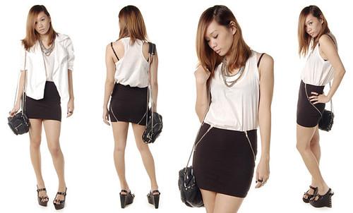 Schwing schwing zipper skirt