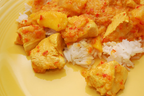 pineapplemangochickencurry