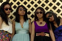 (cessemi) Tags: family portrait girl fashion lady female sisters asian outdoors newjersey model backyard jerseycity photoshoot cousins philippines filipina
