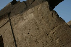 Day 2 - Kom Ombo Temple (claireyfairy) Tags: cruise temple egypt nile 2009 hieroglyphics komombo