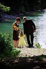 Proud grandparents (Drew Gregory Photography) Tags: lake water youth river child outdoor grandparents flowergirl yellowdress annettepatwedding bridegroomhusbandwifemanwomanmarriage