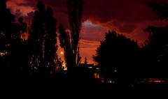 Magic Hour (lowellsimonsen) Tags: trees sunset house silhouette twilight long exposure