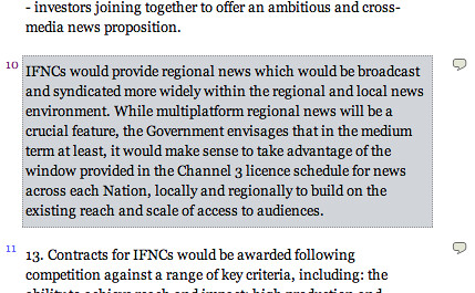 http://writetoreply.org/pluralnews/2009/07/03/section-1-securing-plural-sources-of-news-in-the-nations-locally-and-in-the-regions/#10 Writetoreply orginal quote