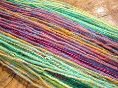 Galapagos Handspun (sand_and_sky) Tags: wool nature knitting natural handmade crochet knit merinowool yarn spinning knitted crocheted eco spindle handspun ecofriendly spun crocheting handspinning spindlespun sandandsky sandandskycreations dryadnaturalknitting