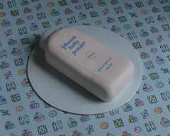Baby Powder Cake (Decorada) Tags: baby cake powder talc