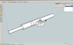 Sketchup - STEN gun Mk. II (Milgeek) Tags: gun sketchup sten