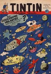 Tintin #204 (micky the pixel) Tags: fliegendeuntertasse soucoupesvolantes comics comic tintin milou timundstruppi kuifje hergé georgesdargaud georgeslang bobdemoor flyingsaucer ufo aliens space weltall cosmos mars martiens mond moon lune funny humor sf scifi