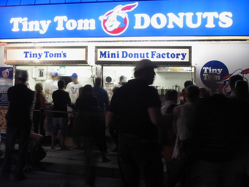 Late night donuts