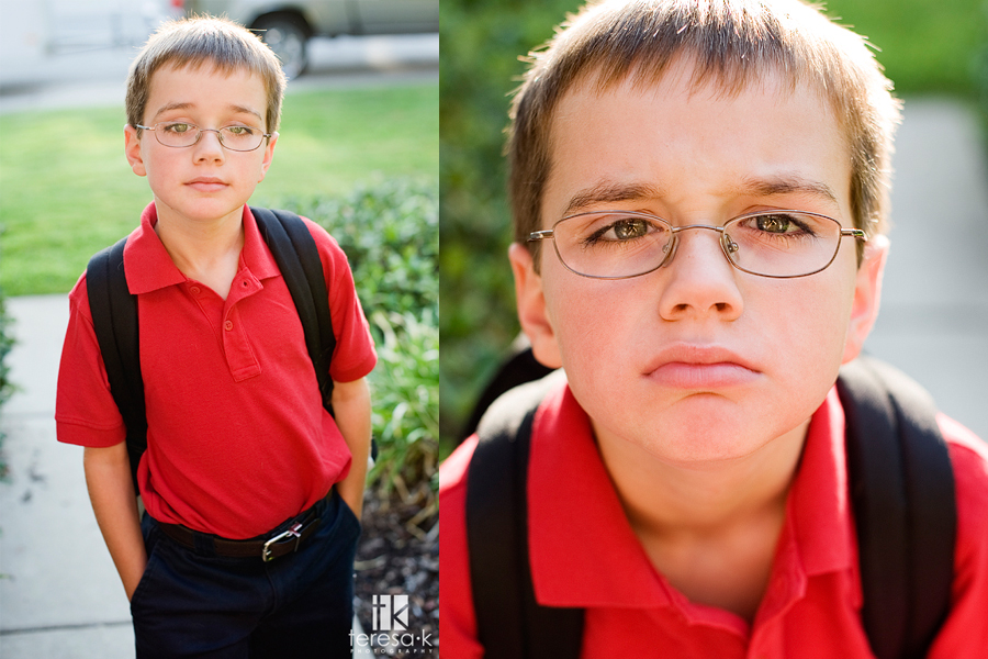 First Day of School by Teresa K photography