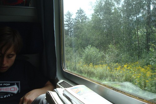 Sul treno Monaco-Vicenza