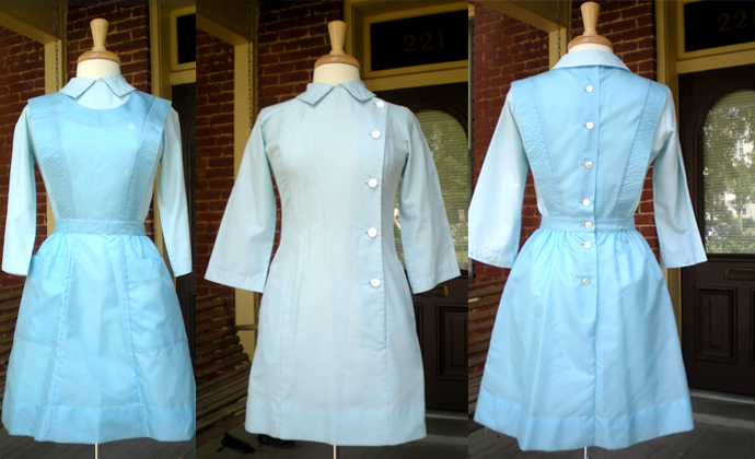 Ebay 50's/60's Nurses Uniform w/ Apron