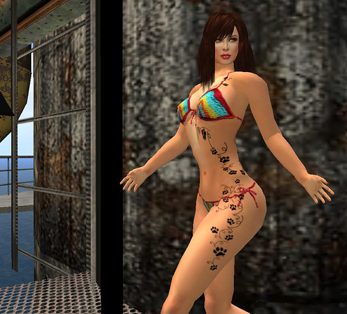 Jamaica bikinis (free) Tattoo: Dragon Femme I by Original Choice (1 L)
