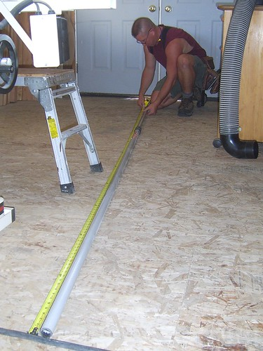 Set Measurement On A Painting Pole