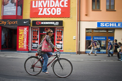 Czech Cycle Chic in Pardubice