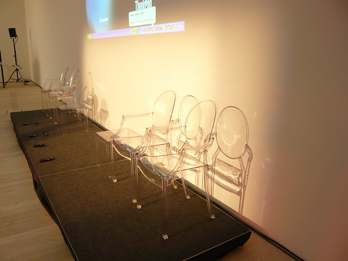 Ghost Chairs Furniture Hire Gallery London  ExhibitHire