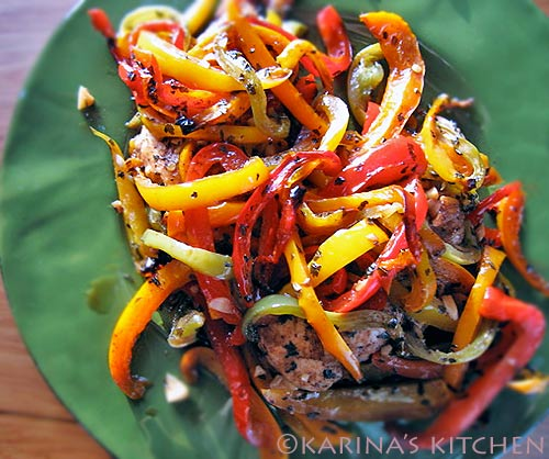 Easy Chicken and Peppers recipe