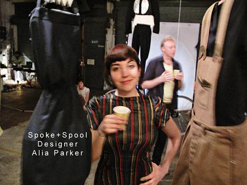 Portrait of designer Alia Parker