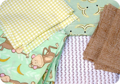 baby quilt swatches