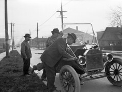 Automobile, 1912 (Seattle Municipal Archives) Tags: seattle cars ford transportation maintenance 1910s mechanic automobiles modelt 16184 seattlemunicipalarchives