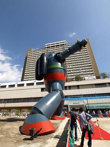 鐵人28號巨型機器人建成啦