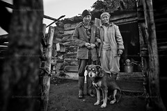 Shepherds in Tuva (Mieszko Stanislawski) Tags: family boy bw dog house mountain man male russia shepherd marriage husband siberia wife tuva indigenous babel syberia rosja russianfederation pasterze tuwa mieszko stanislawski otherrussia czaban boratajga lopczik suthol