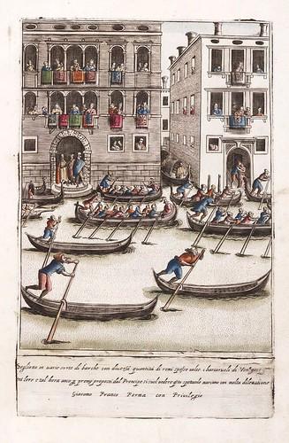 022-Espectaculo de gondolas en Venecia-Habiti d'hvomeni et donne venetiane 1609